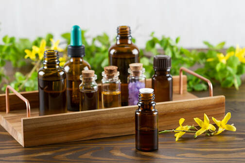 Picture of aromatherapy oils